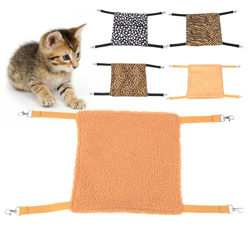 Pet Products The Cheapest Price Adeeing Soft Pet Kitten Cat Hammock Removable Hanging Bed Breathable Convertible Swing Bed