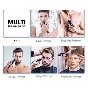 Image 5 - Impermeabile professionale dei capelli trimmer barba trimero del fronte di corpo dei capelli tagliatore di capelli elettrico macchina di taglio taglio di capelli per gli uomini grooming