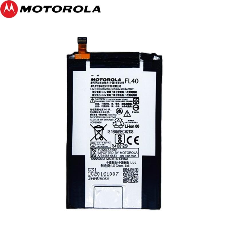 Motorola 100% Original 3630mAh Bateria Para Motorola Moto X 3A FL40 Moto X Play Dual XT1543 XT1544 XT1560 XT1561 XT1562 XT1563