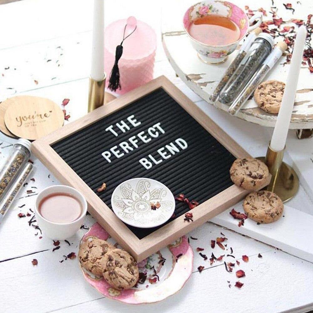 Office & School Supplies Schautafeln Brief Bord Buchstaben Spezielle Hochzeit Charaktere Wörter Für Filz Veränderbar Nachricht Zeichen & Letterboards Gute QualitäT