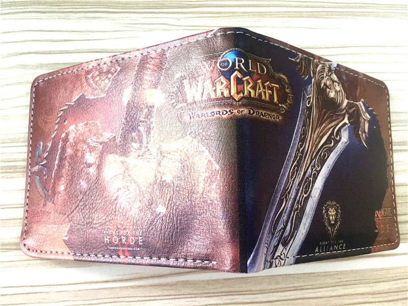 2018 World of Warcraft wallet Horde Wallet PU Leather Good Quality, WOW, World of Warcraft W339 ружье edison enfield gewehr metall western 0375 96