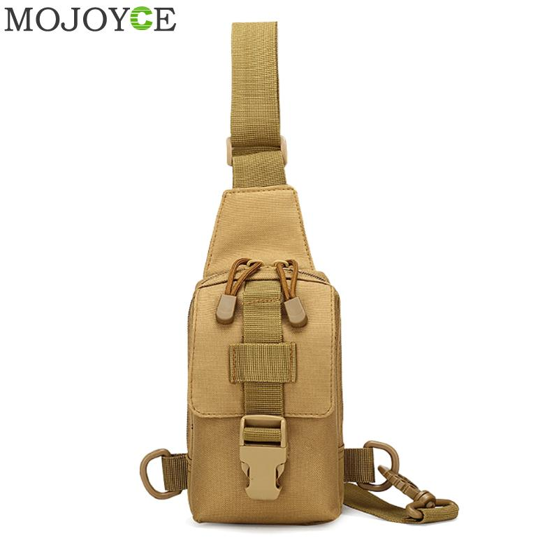 Men Small Shoulder Chest Bag Oxford Mobile Phone Bag Strap Sling Crossbody Bags Men Casual Messenger Chest Pack Male Chest Bags