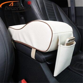 Пены памяти Автомобильный подлокотник Pad универсальный автомобиль центральной консоли подлокотник коробка подушки на сиденья протекторы ...
