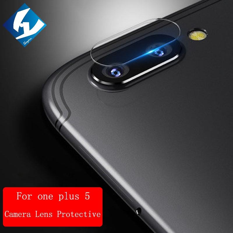 Lhoyern Back Camera Lens Protective Protector Cover For One plus 3 5 five three 1+3 5 5T A3000 A5010 Clear Tempered Glass