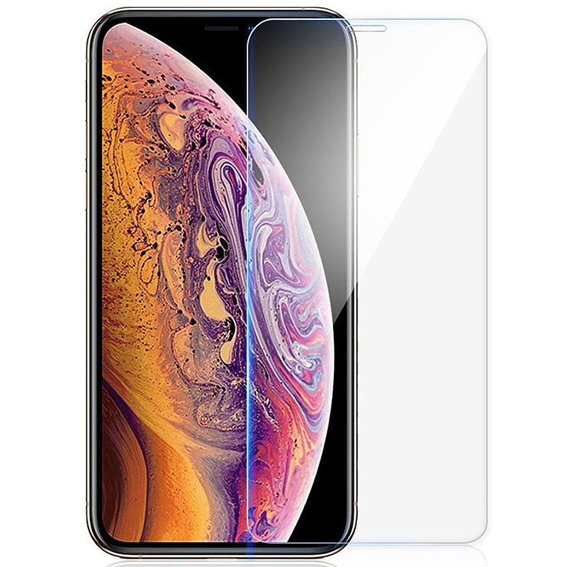 iPhone 7 8 glass on iPhone X XS MAX XR screen protector iPhone 8 plus 6 6S protective glass to iPhone 5 5S SE tempered glass