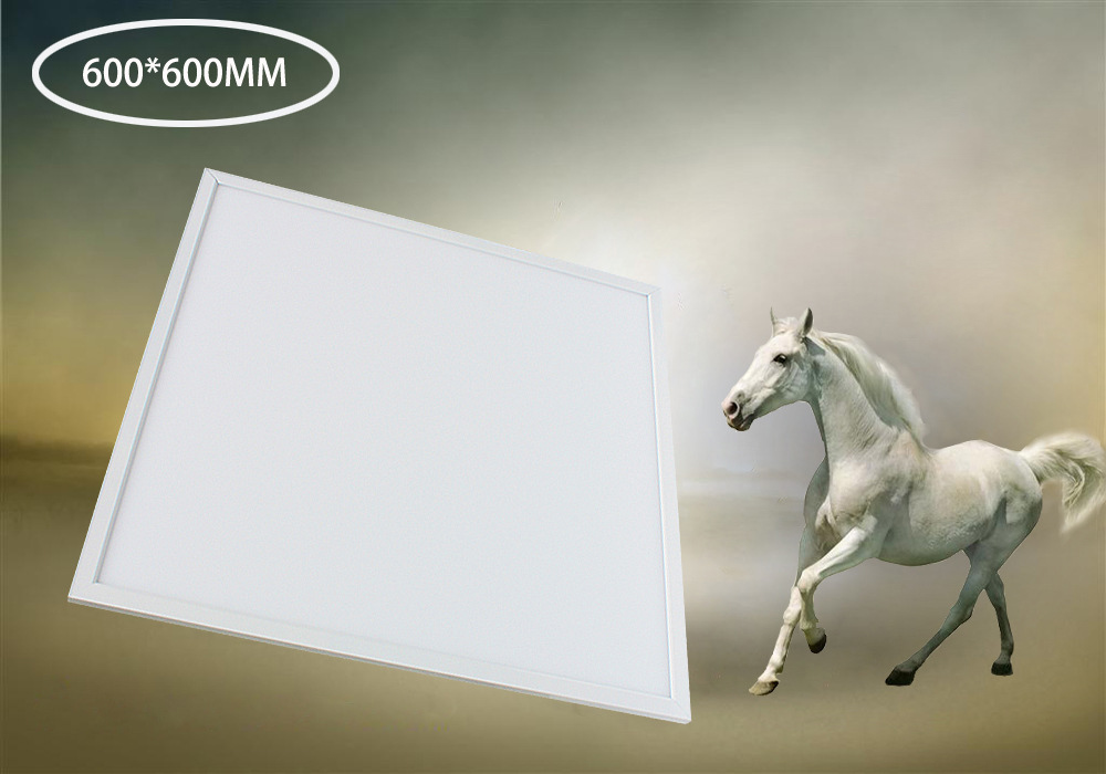 Free Shipping 36W hall LED Panel Ceiling Lamp Epistar LED Chip 600x600mm 2700-3200k/4000-4500k /6000-6500k Aluminum+PMMA free shipping waterproof ip65 led panel 600x600mm high bright led chips with led driver ww nw cw color temperature aluminum pmma