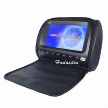 """Универсальный """" экран Автомобильный подголовник монитор DVD MP5 плеер Подушка монитор поддержка DVD/AV/USB/SD/FM/IR/динамик/беспроводная игра"""
