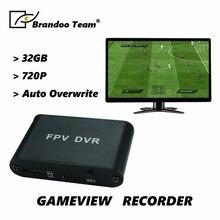 720P HD 1CH SD DVR мини размер игровой регистратор Поддержка 32 Гб sd-карта Прямая с фабрики