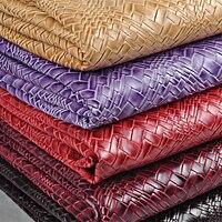 100*138 cm Tilt artificiale tessuto pelle PU decorazione mobili tessuto ecopelle divano in tessuto FAI DA TE porta borse cucito materiale