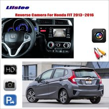 Liislee For Honda FIT 2013 ~ 2016 Car Reverse Rear  View Camera / Connect The Original Factory Screen / RCA Adapter Connector uv cpl nd8 mavic air filters protective lens filter for dji mavic air cpl uv nd8 filter kit dji mavic air accessories