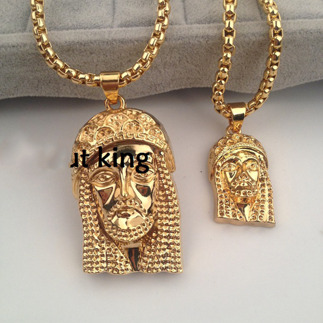 Mcsays hip hop necklace jesus head piece mens jewelry christan mcsays hip hop necklace jesus head piece mens jewelry christan pendant bling boxing chain necklace alloy aloadofball Choice Image