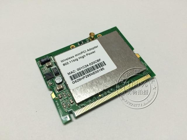 802.11BG HIGH POWER WIRELESS LAN MINIPCI CARD DRIVERS
