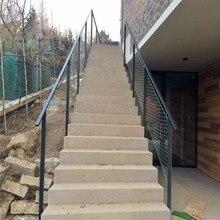 Подгонянная Гибкая балюстрада из нержавеющей стали проволочная сетка/кабель сетка для лестницы
