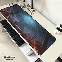 Schlacht von Azeroth maus pad gel 80x30 cm pad maus Hohe qualität computer mauspad gaming mauspad gamer laptop große maus matten