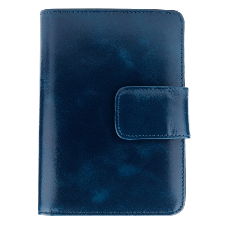Wallet Minimalist-Style Vintage Genuine-Oil Hot Unisex Waxing Travelling-Card Multi-Function