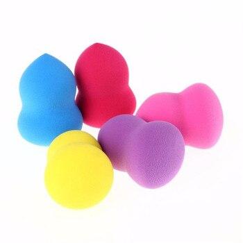 5pcs Random color Pro Flawless Women's Makeup Foundation Puff Powder Sponge Multi Shape Sponges Make up Tools Accessories Cosmetic Puff