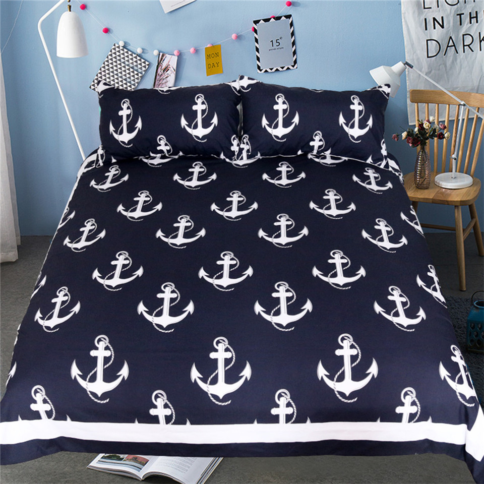 Beddingoutlet Anchor Bedding Set Queen Size For Kids Boy
