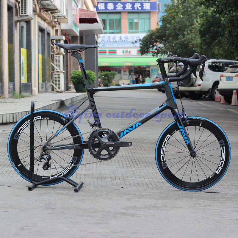 Blue Gray JAVA Freccia  With S H I M A N O 6800 22 Speed 451 Carbon Mini Velo Bike 20 1 1/8 wheelset  Minivelo Bicycle кей хорстманн java библиотека профессионала том 1 основы