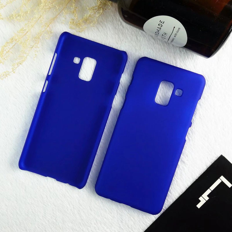 Hard PC Matte Case For Samsung A6S A9S A5 A7 A8 A9 A6 2018 A3 A5 A7 2017 J4 J6 Cover For Galaxy S6 S7 Edge S8 S9 S10 Plus Lite
