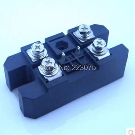 MFQ100A 1600V Silicon Controlled Module Diode Bridge Rectifier 100A Amp  new free shipping saimi skd100 16 100a 1600v brand new original three phase controlled rectifier bridge module