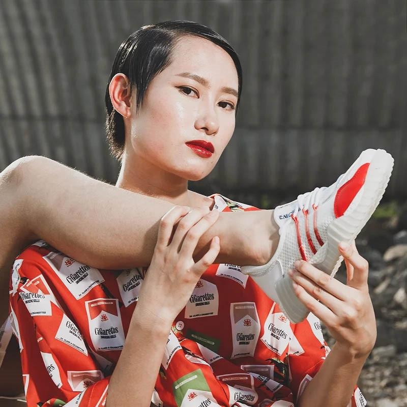 Tenis Women's Pour Delivr Plate Décontractées Vulcanisées Blue Sneakers Fashion forme Course orange Feminino Femelle Chaussures Femmes 2019 De byvf6g7Y
