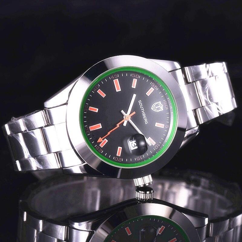 relogio masculino Luxury Brand Full Analog Display Date