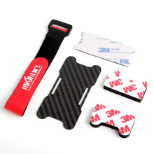85mm Battery Protector Plate w/ Battery Strap Sponge Mounting Pad for iFlight ix5 200mm FPV Racing Drone w/ Battery on Bottom