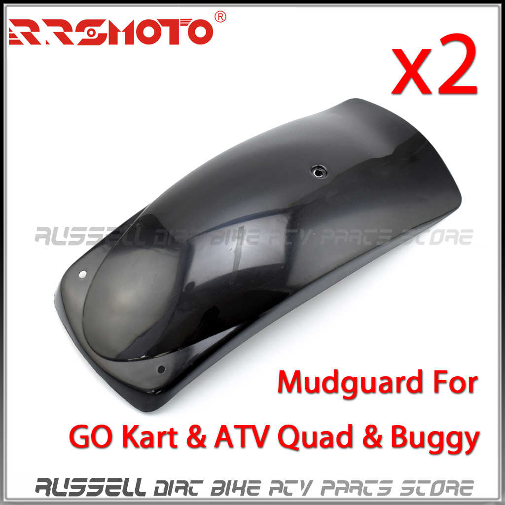 2pcs Go Kart Fender Mudguard For 125cc 150cc 200cc 250cc Kinroad