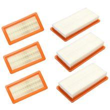 Gorąca sprzedaż 6 zastąpienie filtr do Karcher DS5500 DS5600 DS5800 DS6000 wkład filtra typ 6.414 631.0 DS odkurzacz części