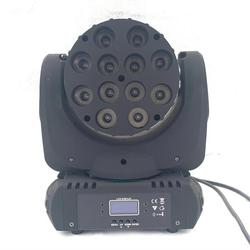LED beam moving head light  12x12w /36x4W 7x20W rgbw 4in1 9/16 dmx channels for dj disco lights Stage lighting effects