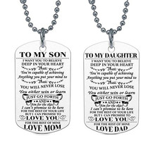 Susenstone My DAD DAUGHTER Pendant Engrave Letters