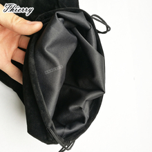 Thierry 23*37cm Flannel Drawstring Storage big Bag for Adult Sex Toys, vibrator dildo anal butt plug etc. sex products
