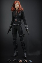 1/6 Collectible figure doll Marvel's The Avengers Black Widow Scarlett Johansson 12″ Action figure doll Plastic Model Toy.No box