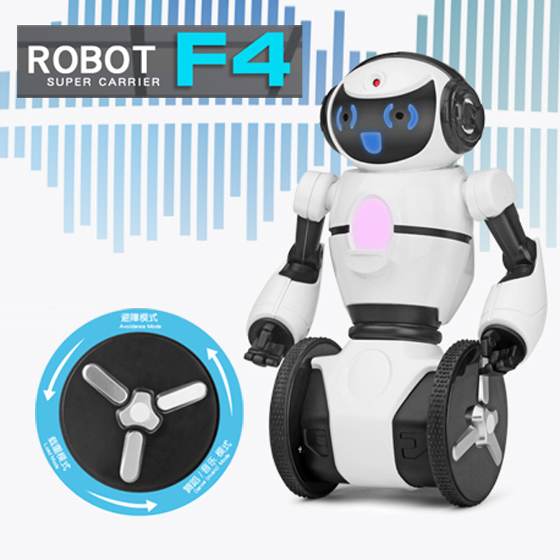 F4 Intelligent Humanoid Robot Wifi Control RC Robot With Dance/music/wifi/wifi Camera RC Toy Model