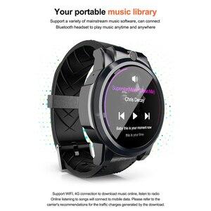 """Image 3 - Lokmat X360 Android 7.1 4G LTE 3GB32GB MT6739 Smartwatch Bluetooth GPS 1.6 """"Touch Screen 5.0MP Video Chiamata 620mAh Astuto Della Vigilanza Degli Uomini"""