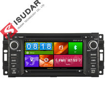 Two Din 6.2 Inch Car DVD Player For JEEP/COMMANDER/WRANGLER With Canbus 3G USB Host Radio GPS RDS BT 1080P Ipod Free Map