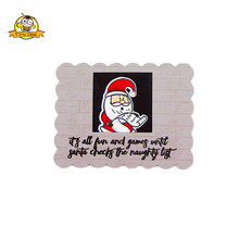 CHRISTMAS Santa Claus Transparent Clear Silicone Stamp/Seal for DIY scrapbooking/photo album Decorative clear stamp sheets