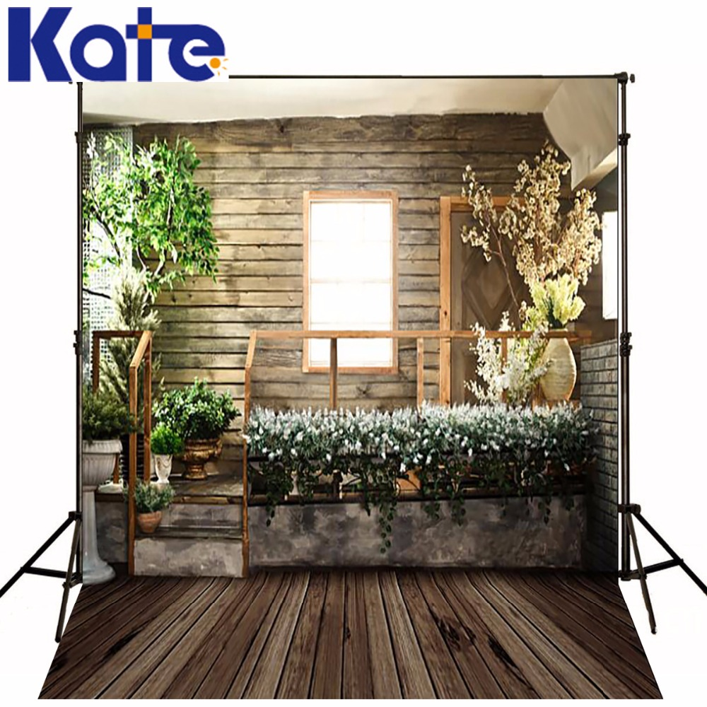 Kate Indoor Wedding Photography Backdrops Dark Wood Texture Floor Photography Vintage Wedding Background for Photo Studio kate photo background wedding backdrop pink photography backdrops vintage wood floor background for photography studio