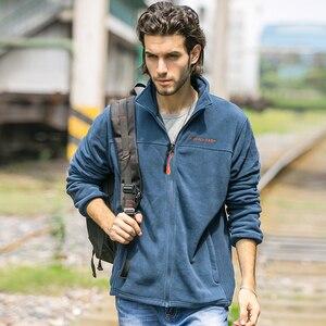 Image 3 - Мужская Флисовая Куртка Pioneer Camp, теплая брендовая одежда, пальто для осени и зимы, верхняя одежда высокого качества, 520500A
