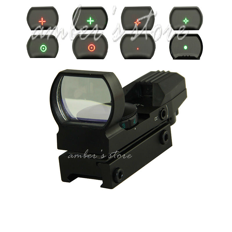 Free Shipping Hunting Tactical 20mm 11mm Holographic