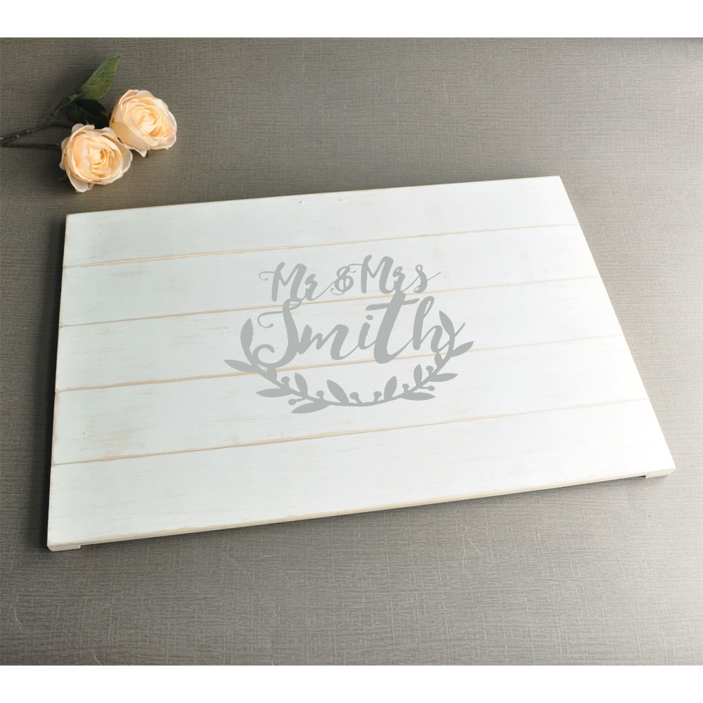 Custom Wedding Gifts Mementos Wood Guest Book Wedding Guestbook Sign Alternative Guest Book