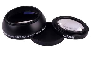 Image 4 - Объектив для камеры Sony Alpha, черный широкоугольный объектив 49 мм 0,45x с макро объективом для Sony Alpha, NEX 3, для Sony Alpha A3000, с объективом 18 55, для Sony Alpha A3000, с объективом 18 55
