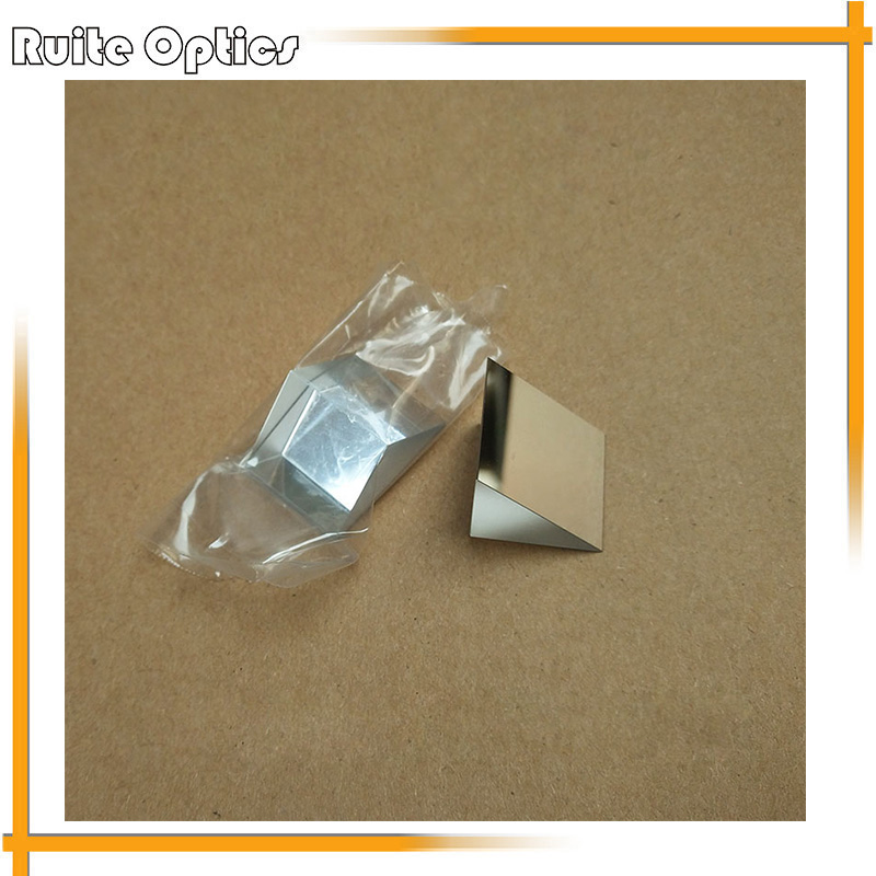 1PC 50x50x50mm K9 Optical Glass Right Angle Slope Reflecting Prism Optics Experiment Reflective Prism