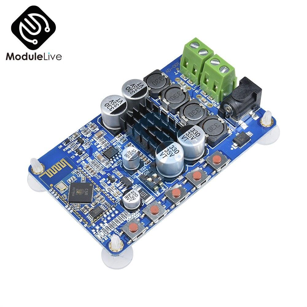 TDA7492P Amplifier Board Blue Wireless Bluetooth 4.0 Player Module Speaker Audio Receiver Digital  8-25V Power 2X50W Wifi