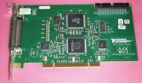 PCI-DIO-32HS 183480E-01 High Speed Digital I/O Module Original 95%New Well Tested Working One Year Warranty  371 0294 01 sfp 4g sw 850nm fc fiber module original 95%new well tested working one year warranty