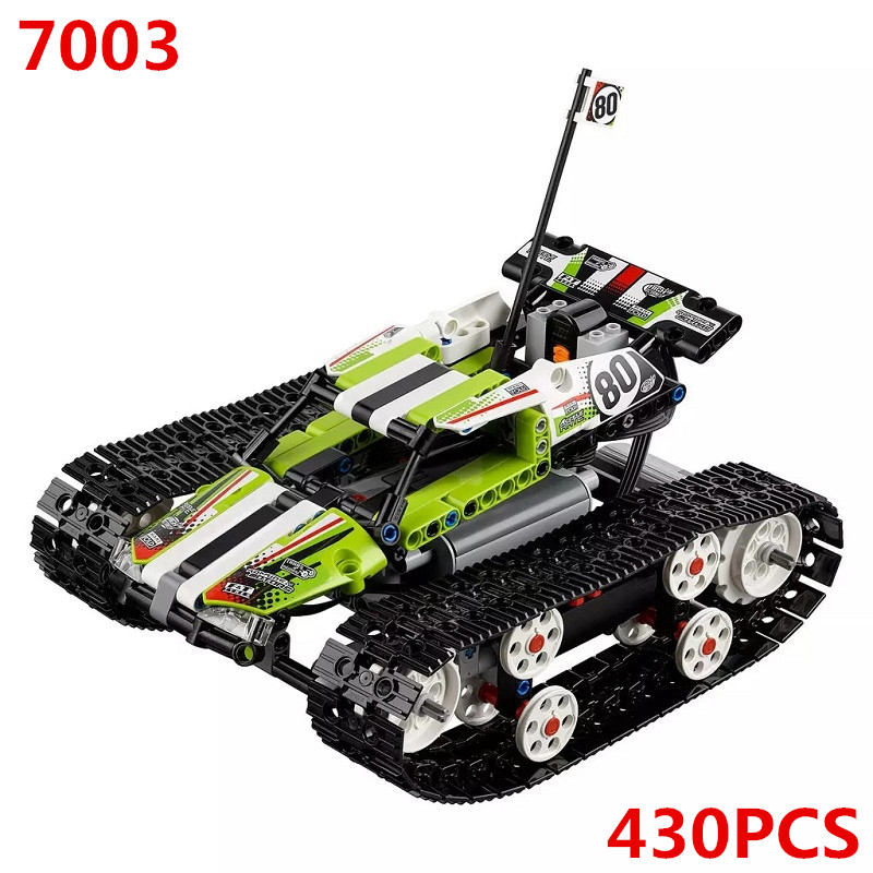 42065 RC Tracked Racer Remote Control Caterpillar Vehicles Building Blocks Bricks Technic DIY Toys Gifts Sembo