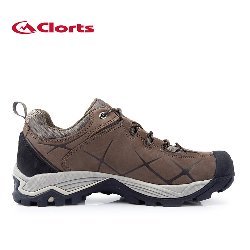 2019 New outdoor mens Real Leather Hiking Shoes an