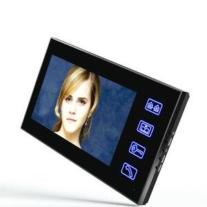 """Image 3 - 7 """"TFT wideodomofon domofon z IR CUT kamera na podczerwień HD 1000 linia telewizyjna Night Vision Security kamera telewizji przemysłowej"""
