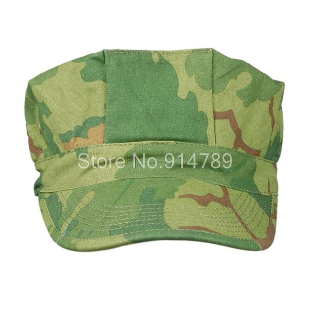 VIETNAM WAR US MITCHELL CAMO UTILITY CAP SIZE L-34353