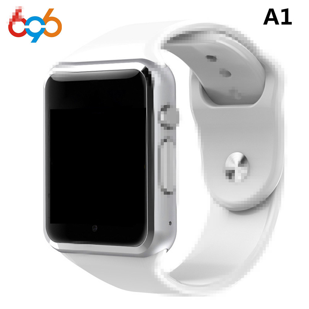 696 Fabbrica A1 Intelligente Orologio Con Passometer Macchina Fotografica SIM Card chiamata Smartwatch Per Xiaomi Huawei Android Phone Meglio di GT08 DZ09